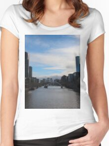 Melbourne River Women's Fitted Scoop T-Shirt
