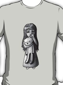 Sad Girl Sketch T-Shirt