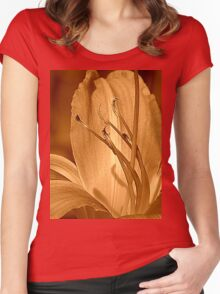 Traditional Women's Fitted Scoop T-Shirt