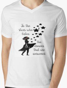 To the Stars Who Listen Mens V-Neck T-Shirt