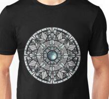 Steel Blue Mandala Unisex T-Shirt