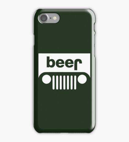 Beer Jeep iPhone Case/Skin