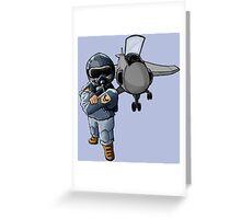 Fighter Pilot Greeting Card
