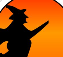 Salem Massachusetts Witch Sticker
