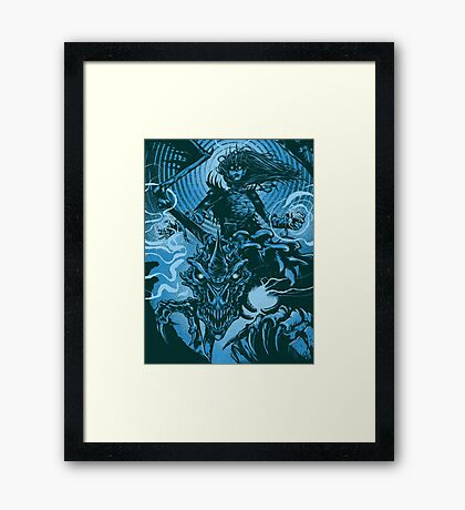 Shadowmantle Framed Print