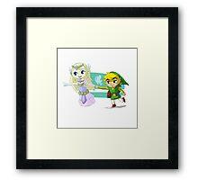 Cutest duet Framed Print