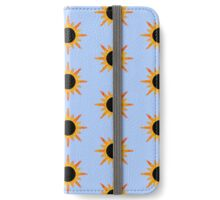 Sunburst sunflower iPhone Wallet/Case/Skin