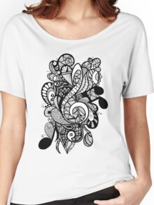 Let the Music Play Women's Relaxed Fit T-Shirt