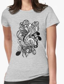 Let the Music Play Womens Fitted T-Shirt