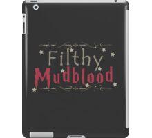 Filthy Mudblood iPad Case/Skin