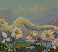 Ethereal Buddha by Yuliya Glavnaya