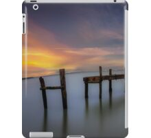 Wooden Pier Sunset iPad Case/Skin