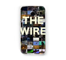 The Wire Television Poster Samsung Galaxy Case/Skin