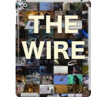 The Wire Television Poster iPad Case/Skin