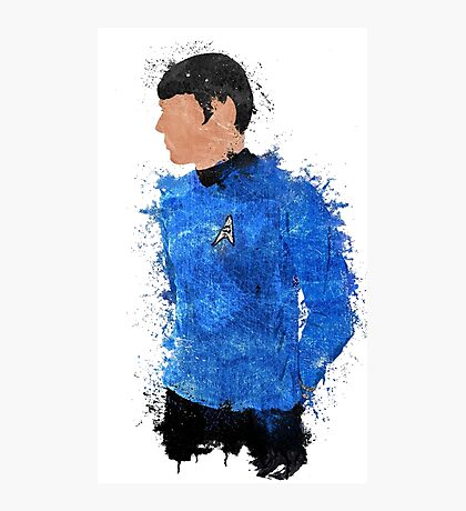 Spock Photographic Print