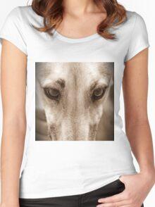 Gemma - peanut butter thief Women's Fitted Scoop T-Shirt