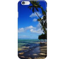 Under the Palm Tree  iPhone Case/Skin