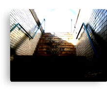 UP the UP Staircase Canvas Print