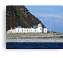 Ailsa Craig Lighthouse Scotland Canvas Print