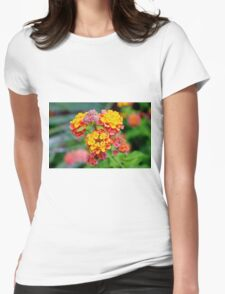 Lantana Clusters Womens Fitted T-Shirt