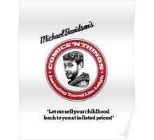 Michael Davidson's Comics 'n Things - White Tiger edition Poster
