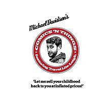 Michael Davidson's Comics 'n Things - White Tiger edition Photographic Print