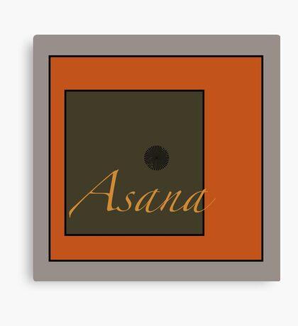 Asana Canvas Print