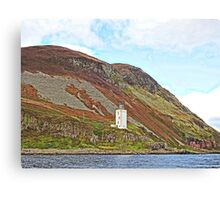 Holy Isle Outer Lighthouse Scotland Canvas Print