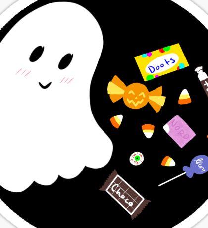 Candy Ghost Sticker