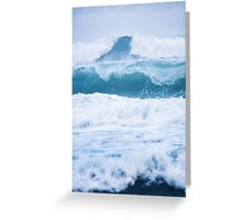Blue Vibes  Greeting Card