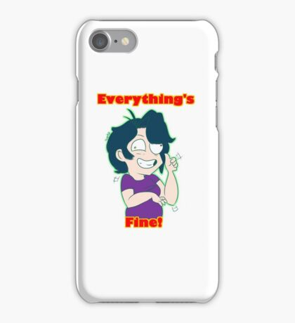 Everything's Fine iPhone Case/Skin