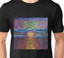 Sunset - Hand Painted Unisex T-Shirt