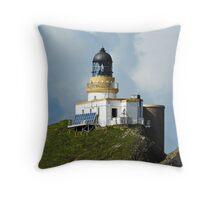 Sanda Isle Lighthouse Scotland Throw Pillow