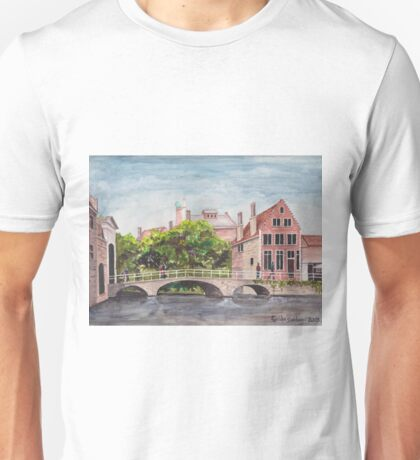 Bruges Bridge Unisex T-Shirt