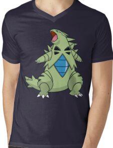 Tyranitar Mens V-Neck T-Shirt