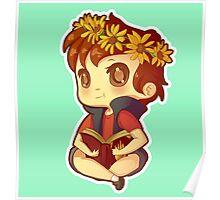 Dipper Flower Power Poster