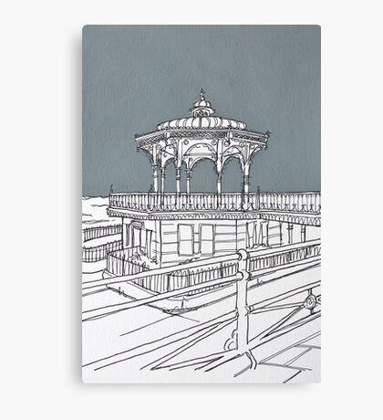 Brighton Bandstand Canvas Print