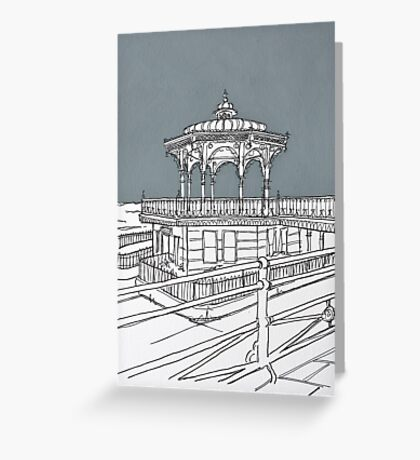 Brighton Bandstand Greeting Card