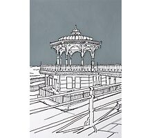 Brighton Bandstand Photographic Print