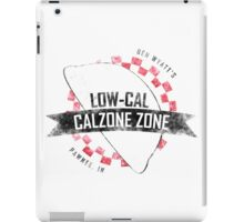 Ben Wyatt's Low-Cal Calzone Zone iPad Case/Skin