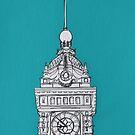 Brighton Clock Tower by Adam Regester