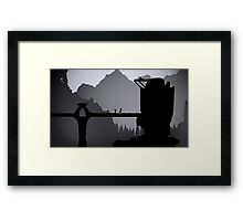 Skyrim: Valtheim Towers Framed Print
