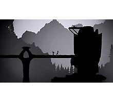 Skyrim: Valtheim Towers Photographic Print
