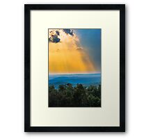 Beauty from the Heavens  Framed Print