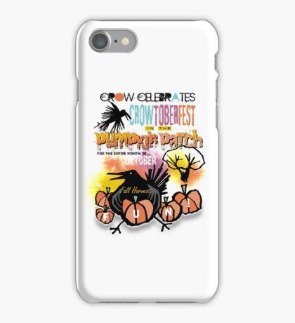 crowtoberfest harvest iPhone Case/Skin