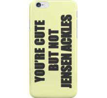 Cute but not Jensen Ackles - 06 iPhone Case/Skin