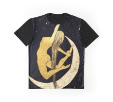 Over The Moon Graphic T-Shirt