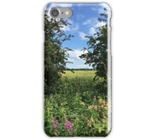 Summer Meadow and Blue Sky to Heaven iPhone Case/Skin
