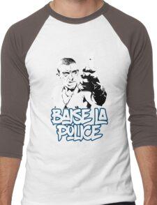 la haine the hate anti police acab movies film france french paris hip hop Men's Baseball ¾ T-Shirt