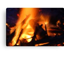 The Heat of Fire Canvas Print